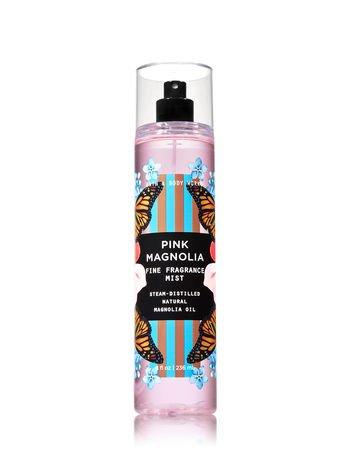 Bath & Body Works - Bath and Body Works Pink Magnolia Fine Fragrance Mist 8 Ounce Spring 2018