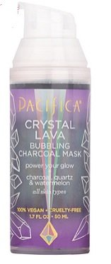 Pacifica - Pacifica Bubbling Crystals Charcoal Shimmer Mask 1.7oz, pack of 1