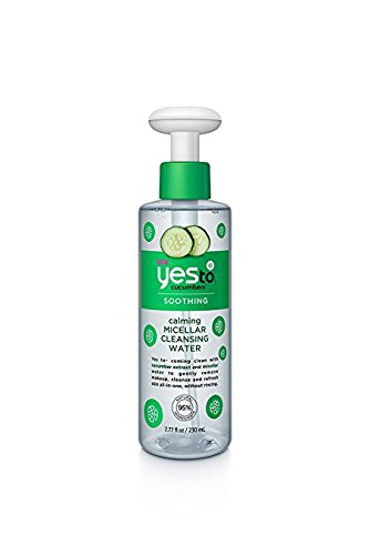 amazon.com - Yes to Cucumbers Calming Micellar Cleansing Water, 7.77 fl oz (Pack of 2)