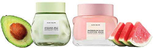 Glow Recipe - Watermelon Glow Sleeping Mask & Avocado Melt Sleeping Mask