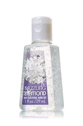 Bath & Body Works - Bath & Body Works Dazzling Diamond 1.0 oz Pocket Bac Anti-Bacterial Hand Gel