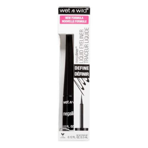Kiss Usa - Wet N Wild Mega Liner Liquid Liner (Pack of 10)
