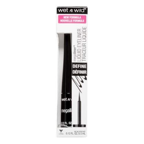 Kiss Usa - Wet N Wild Mega Liner Liquid Liner (Pack of 10)