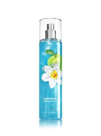 Bath & Body Works - Bath and Body Works Beautiful Day Diamond Shimmer Mist, 8 Fl Oz