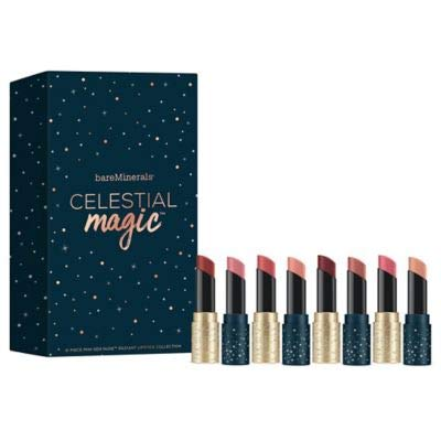 Bare Escentuals - bareMinerals 8-Pc. Celestial Magic Mini Gen Nude Radiant Lipstick Set