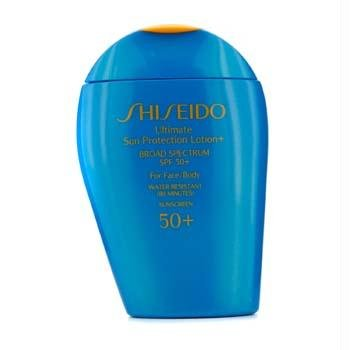 Shiseido - Shiseido Ultimate Sun Protection Lotion N' Broad Spectrum SPF 50 for Face/Body for Unisex, 3.3 Ounce