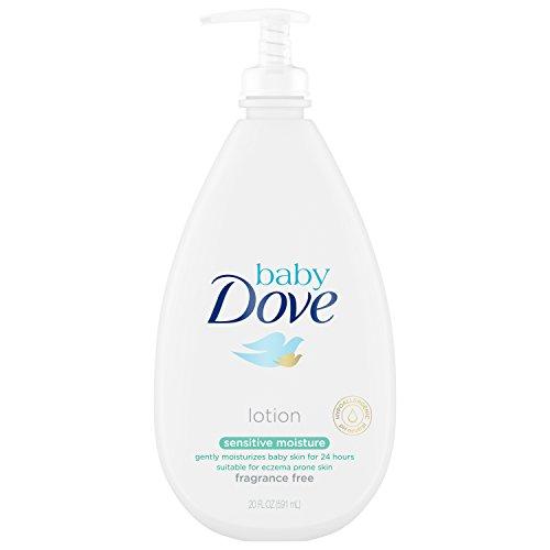 Baby Dove - Baby Dove Fragrance FreeLotion, Sensitive Moisture, 20 oz