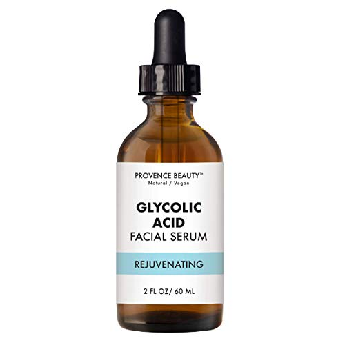 Provence Beauty - Provence Beauty | Vital Essential Oils Facial Serum - Instant Rejuvenating Glycolic Acid | Light Exfoliating Essential Oil - Reveals Healthier, Glowing Complexion, Also Moisturizes | 2 FL OZ