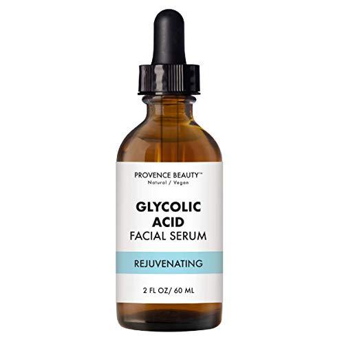 Provence Beauty - Provence Beauty | Vital Essential Oils Facial Serum - Instant Rejuvenating Glycolic Acid | Light Exfoliating Essential Oil - Reveals Healthier, Glowing Complexion, Also Moisturizes | 2 FL OZ