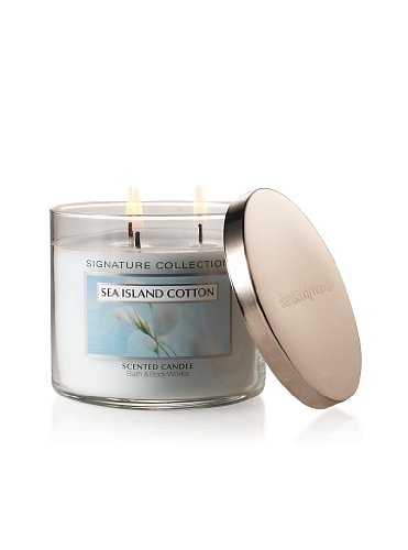 Bath & Body Works - Sea Island Cotton Scented Candle
