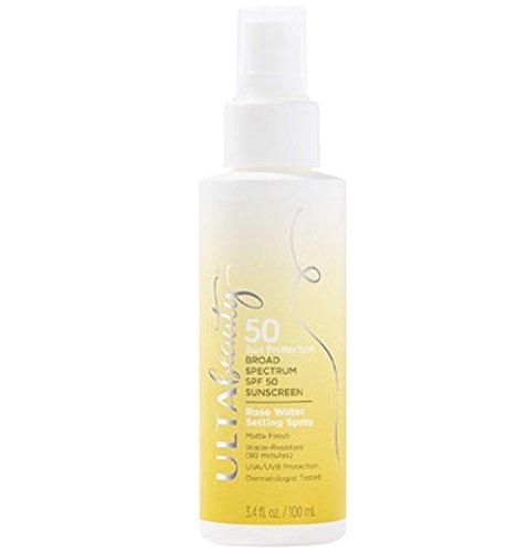 Ulta Beauty - Ulta Beauty SPF 50 Sunscreen Rose Water Setting Spray