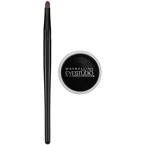 Maybelline - Eyestudio Lasting Drama Gel Eye Liner, Blackest Black