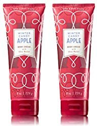 Bath & Body Works - Bath and Body Works Winter Candy Apple Body Cream 8 Ounce Set of 2 Winter Collection 2018