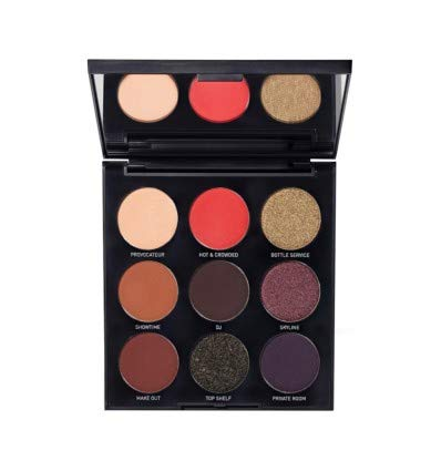 Morphe - Authentic 9N About Last Night Artistry Palette, small but terrible pigments!