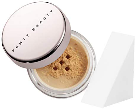 Fenty - Fenty Beauty Pro Filt'r Setting Powder Travel Size, Honey (Free Cosmetic Wedge Sponge Included)