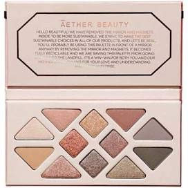 amazon.com - (1) AETHER BEAUTY Rose Quartz Crystal Gemstone Eyeshadow Palette