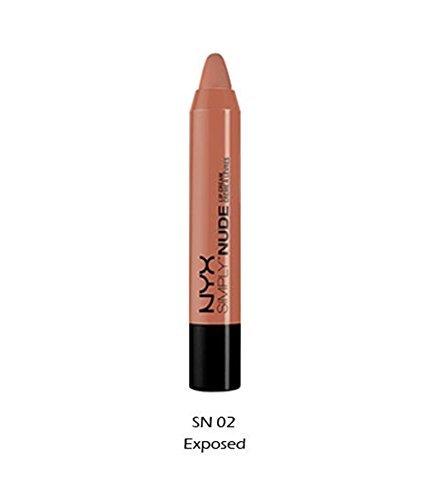 NYX - Simply Nude Lip Cream Lipstick, Exposed