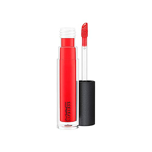Mac Mac Lip Glass Lip Gloss for Women, Russian Red Premium Price Due To Scarcity, 0.17 Ounce