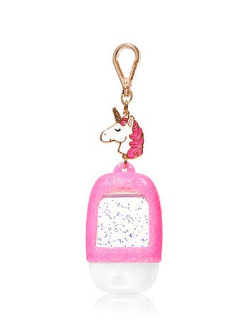 Bath & Body Works - Bath and Body Works Pink Unicorn Charm Pocketback Holder.