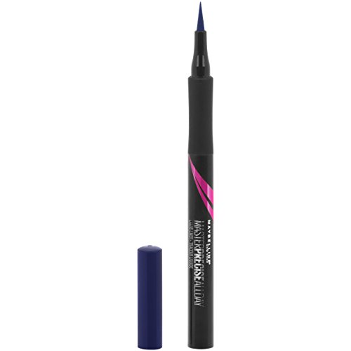 Maybelline - Maybelline Eyestudio Master Precise All Day Liquid Eyeliner Makeup, Cobalt Blue, 0.034 fl. oz.