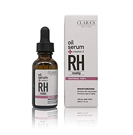 Clara's New York - CLARA'S NEW YORK Moisturizing Rosehip Facial Oil Serum 30ml