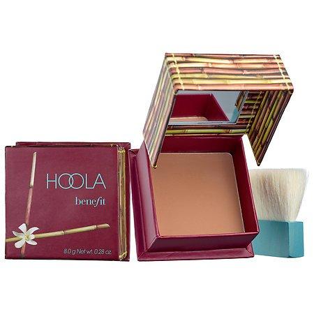 Benefit, Cosmetics - Benefit Cosmetics Hoola Matte Bronzer Box o' Powder Blush