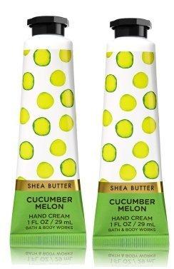 Bath & Body Works - Bath and Body Works 2 Pack Cucumber Melon Shea Butter Hand Cream. 1 Oz