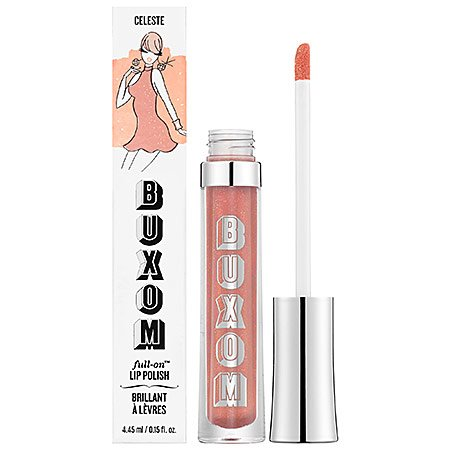 Buxom BareMinerals - bareMinerals Buxom Mini Full-On Lip Polish in Celeste