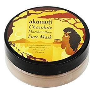 Yumi Bio Shop - AKAMUTI - Face Mask With Chocolate For Normal to Oily Skin - Tones and improves the Texture of the Skin - 20 gr