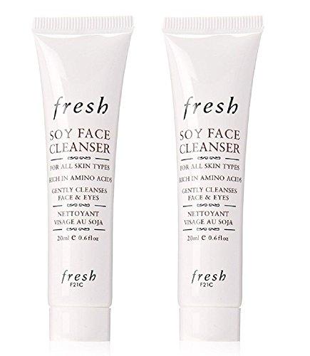 Fresh - Fresh Soy Face Cleanser Travel Duo 0.6 oz/Each