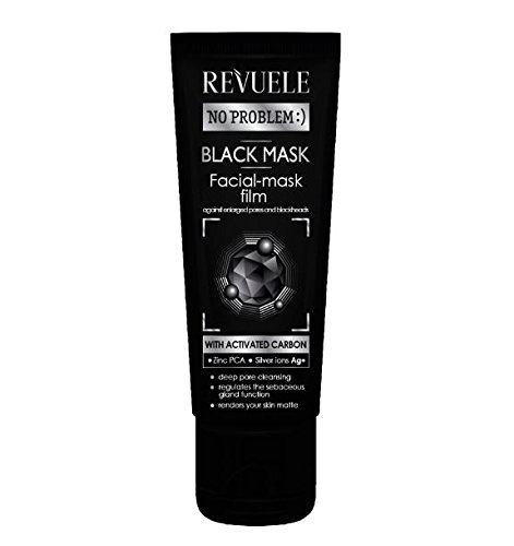 Revuele - Revuele Black Peel Off Face Mask | Deep pore cleansing, acne and blackheads 80ml