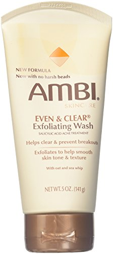 Ambi - Ambi Even & Clear Exfoliating Wash, 5 Ounce