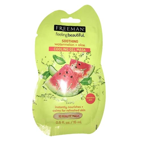 Freeman - Soothing Cooling Gel Mask, Watermelon Aloe