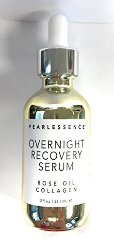 Pearlessence - Pearlessence Overnight Recovery Serum Rose Oil Collagen 2 Fl Oz