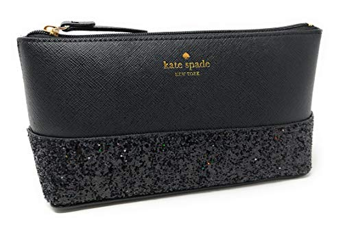 kate spade new york - Kate Spade Greta Court Shiloh Makeup Cosmetic Travel Case Black