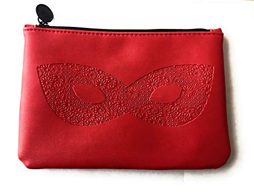 Ipsy - October 2018 Red Ipsy Makeup Bag Great for Travel Cosmetics Bag Great for Gifts too