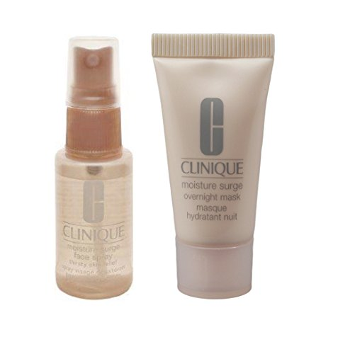 Clinique - Clinique 2pc Moisture Surge Overnight Mask+Face Spray New Travel Size Set