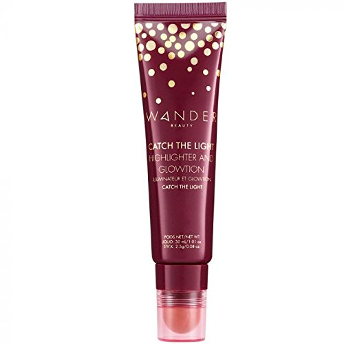 Wander Beauty - Wander Beauty Catch The Light Highlighter And Glotion! A 2-in-1 Skincare Enriched Hydrating Radiance Primer And Full-Size Highlighter Stick That Delivers A Beautiful Champagne Pearl Finish!