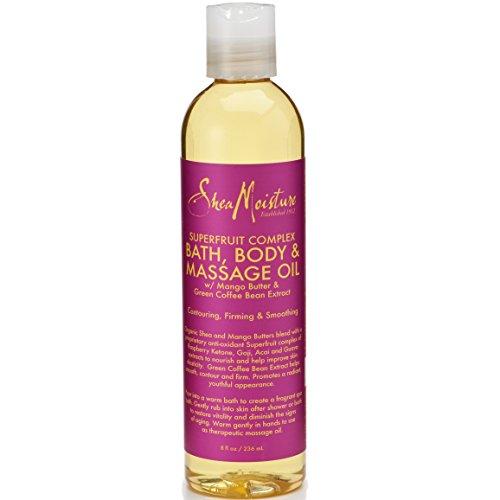 Sheamoisture - SheaMoisture 8 oz SuperFruit Complex Bath, Body & Massage Oil