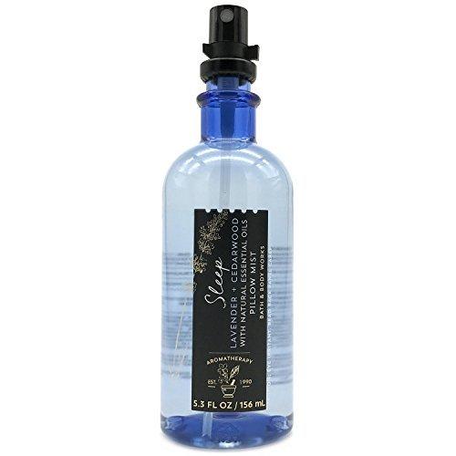 Bath & Body Works - Bath and Body Works Aromatherapy Pillow Mist with Natural Essential Oils (Sleep, Lavender + Cedarwood)