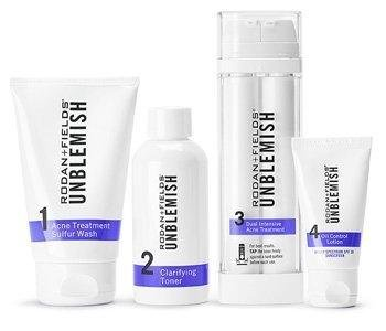 Rodan + Fields Rodan and Fields Unblemish Regimen for Acne and Post Acne Marks, Kit