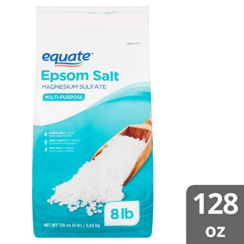 Equate - Epsom Salt 8 lbs. Magnesium Sulfate USP Multi-Purpose - Resealable bag
