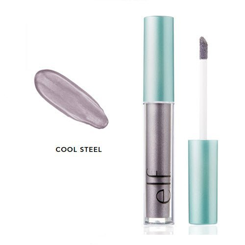 E.l.f Cosmetics - e.l.f. Aqua Beauty Molten Liquid Eyeshadow 57048 Cool Steel