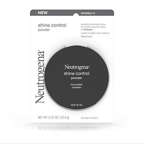 Neutrogena - Neutrogena Shine Control Powder, Invisible 10, .37 Oz. (Pack of 2)