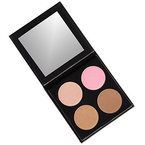 Fabfitfun - ISH Cosmetics Cream Contour Concealing Foundation Kit Make Up Palette (Light/Medium)