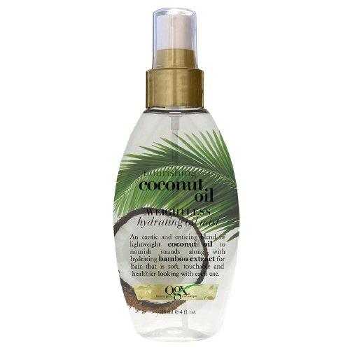 OGX Nourishing - OGX Nourishing Coconut Oil Weightless Hydrating Oil Mist 4 fl oz (118 ml) (Pack of 1)