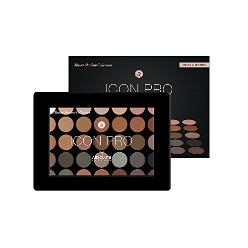 Absolute New York - ICON PRO Eyeshadow Palette by Absolute New York Smoke & Mirrors
