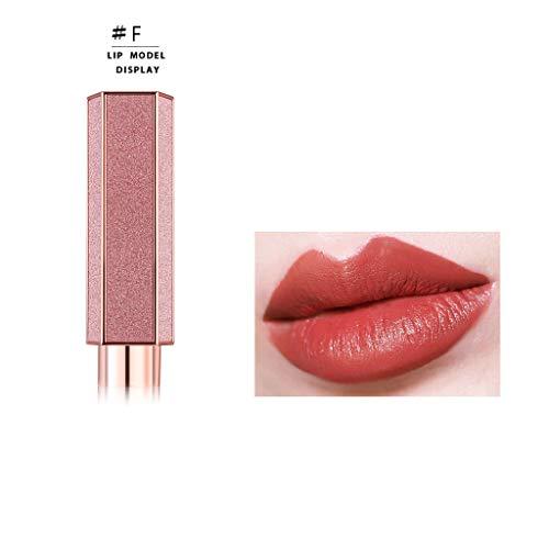 Mimfor - Mimfor Makeup WODWOD Starry Lipstick Lipstick Long Lasting Moisturizing Beauty(F,)
