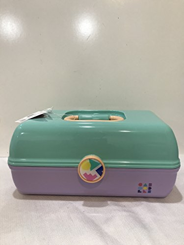 Caboodles - Caboodles Retro On The Go Girl Mint Green & Purple