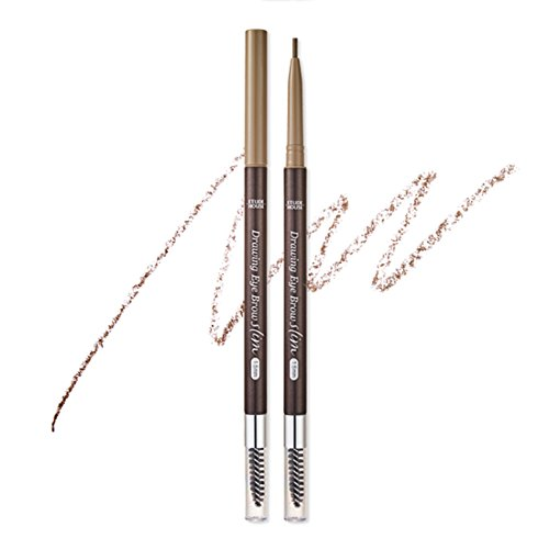 Etude House - ETUDE HOUSE,Drawing Slim Eyebrow 1.5mm #3 Light Brown 0.05g